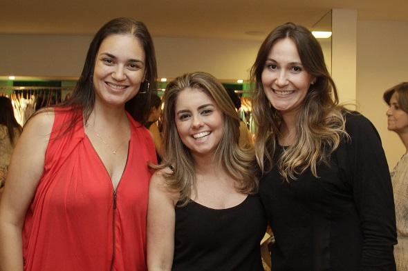 Silvia Mota, Mana Luna e Mariana Palha - Crédito: Duda Carvalho/Divulgação