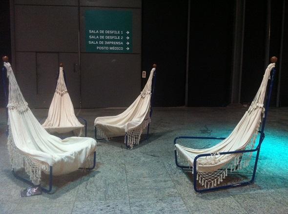 Cadeiras-rede - Crédito: Cecília Ramos / DP DA Press