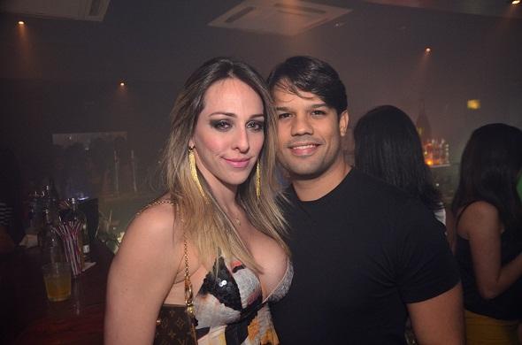 Ana Sarah e Eduardo Trajano