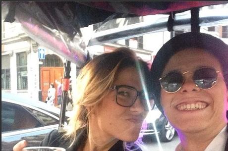 Lua Leça e Maria Gadú: agora casadas Crédito: Instagram