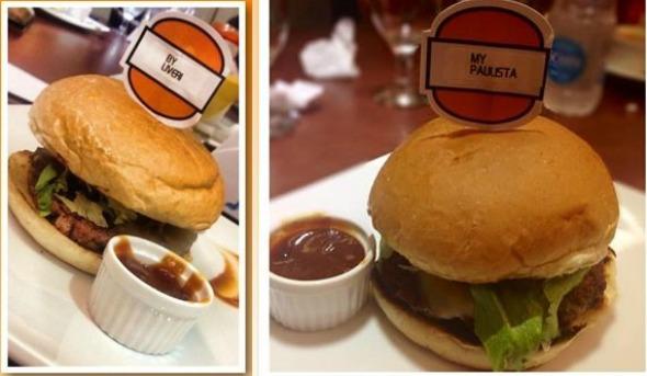 Na My Burguer, o cliente cria o próprio hambúrguer Crédito: My Burguer/Divulgação