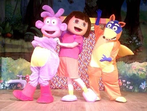 Peça infantil, Dora Aventureira - Crédito: RS/Produceos