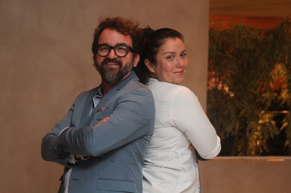 Nicola Sultanum e Ludmila Soeiro Crédito: Nando Chiappetta/DP/D.A Press