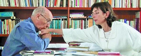 Saramago e Pilar - Crédito: Reprodução site Fliporto