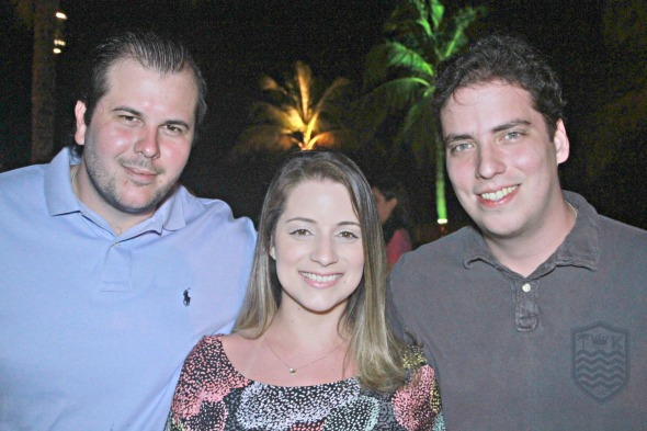 Felipe Bravo, Mariah Bravo e Luiz Pessoa - Foto: Divulgacao/FotoMoksh