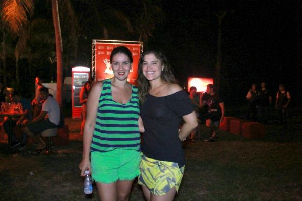 Jamine Tinoco e Concita Freire - Foto: Divulgacao/FotoMoksha.com