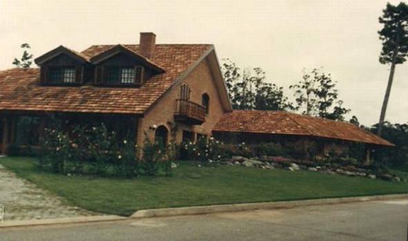 A casa de Gilberto Scarpa em Punta Del Este