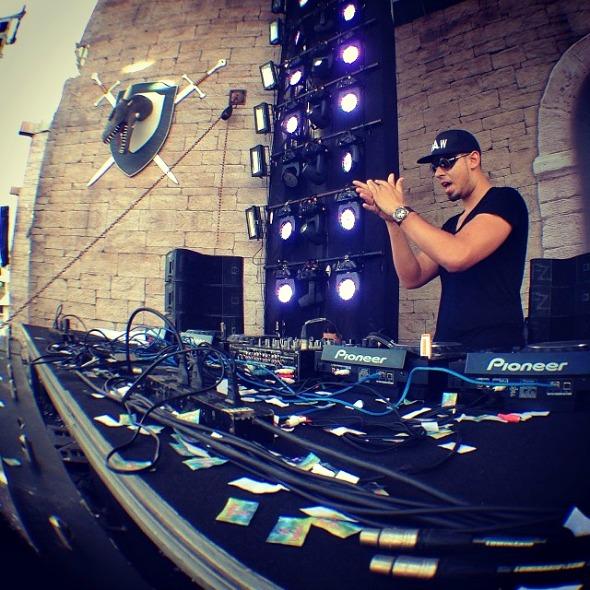 DJ Afrojack fechou o line up do King Festival - Crédito: King Festival/Divulgação