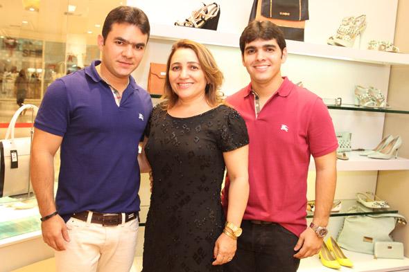 Levi Dantas, Medinha Xavier e Laio Dantas - Crédito: Nando Chiappetta/DP/D.A Press