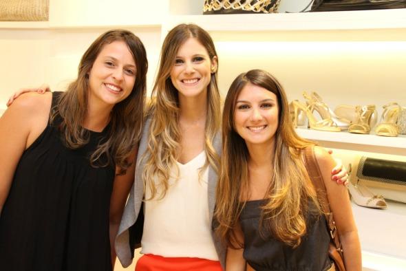 Lívia Coelho, Patrícia Pessoa de Melo e Beatriz Moura Crédito: Thuany Ferreira