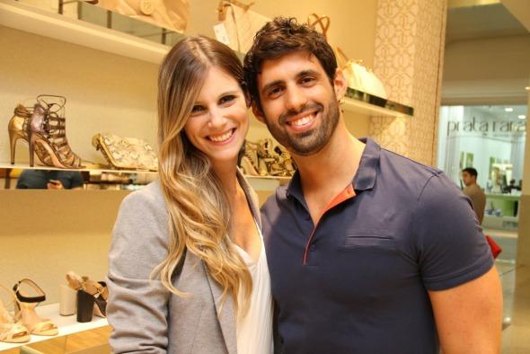 Patrícia e Simon Carrazone Crédito: Thuany Ferreira