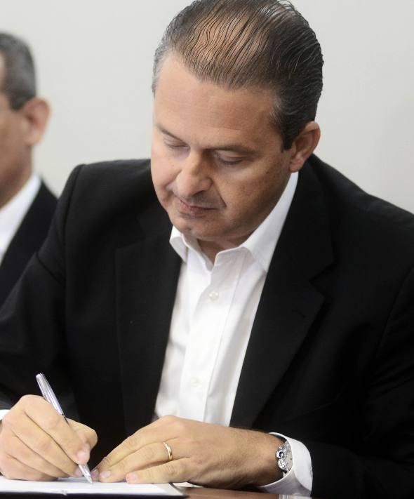 Eduardo Campos/ Foto Aloísio Moreira