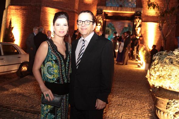 Carla Bensoussan e Antõnio Lavareda - Crédito: Nando Chiappetta/DP/D.A Press