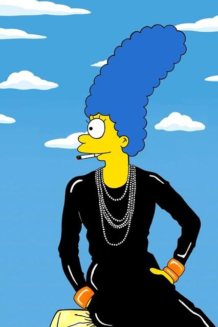 Marge de Coco Chanel - Crédito: Divulgação do artista