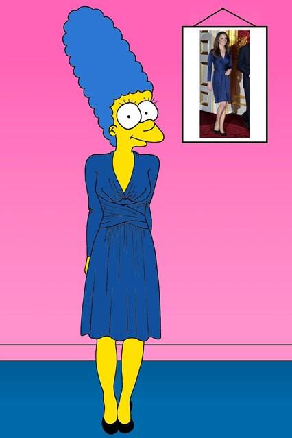 Marge de Kate Middleton - Crédito: Divulgação do artista