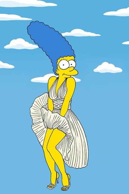 Marge de Marily Monroe - Crédito: Divulgação do artista