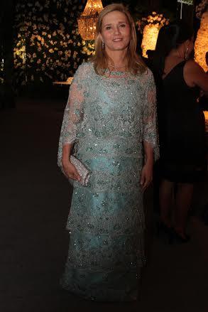 A mãe da noiva, Ana Adelaide Queiroz Galvão Crédito: Bruna Monteiro DP/D.A Press.