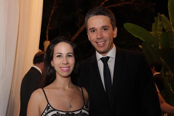 Fabiana e Felipe Carreiras  Crédito: Bruna Monteiro DP/D.A Press.