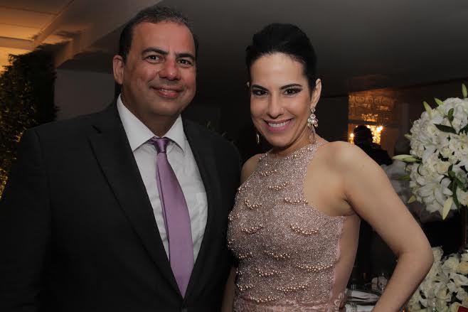 Walmir Bitú e Ana Paula Cascão Crédito: Bruna Monteiro DP/D.A Press.