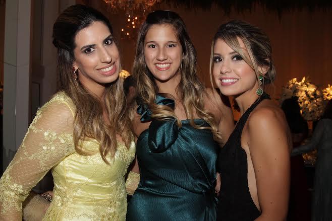 Maria Clara Moreira, Andrea de Paula e Maria Paula Moreira  Crédito: Bruna Monteiro DP/D.A Press.
