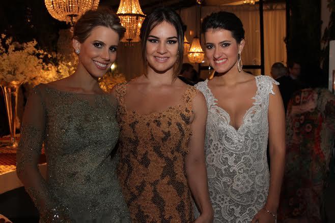 Eduarda Dubeux, Luciana Dias e Juliana Coutinho  Crédito: Bruna Monteiro DP/D.A Press.