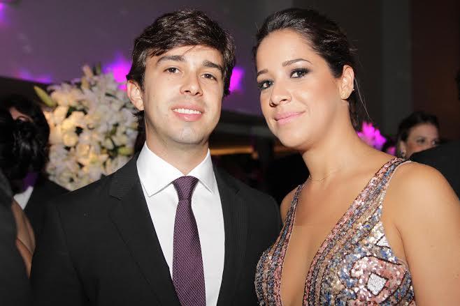Rafael Lobo e Renata Barroca  Crédito: Bruna Monteiro DP/D.A Press.