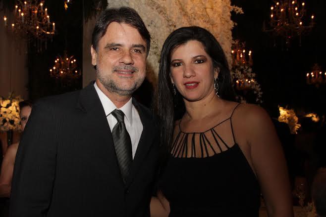 Raul Henry e Luiza Nogueira  Crédito: Bruna Monteiro DP/D.A Press.
