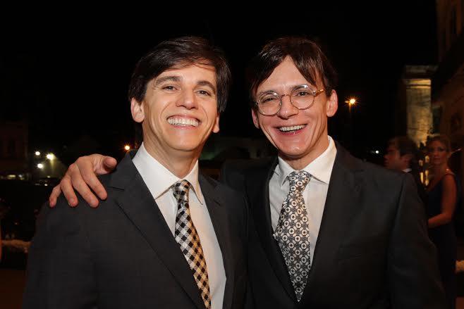 Turíbio e Zezinho Santos Raul Henry e Luiza Nogueira  Crédito: Bruna Monteiro DP/D.A Press.