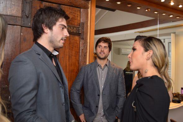 Rafael Furtado, Márcio Pedreira e Claudia Leitte, Crédito: Felipe Souto Maior / Divulgação