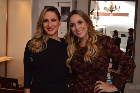 Claudia Leitte e Clara Sobral. Crédito: Felipe Souto Maior / Divulgação