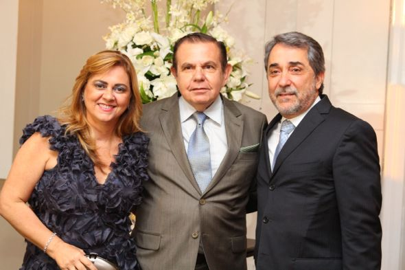 Glaucia Machado, João Alberto e Guilherme Machado. Crédito: Paulo Paiva / DP / D.A Press
