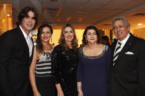 André Gimk, Cláudia Raquel, Cristiana Rocha, José Ubiracy. Crédito: Ricardo Fernandes / DP / D.A Press