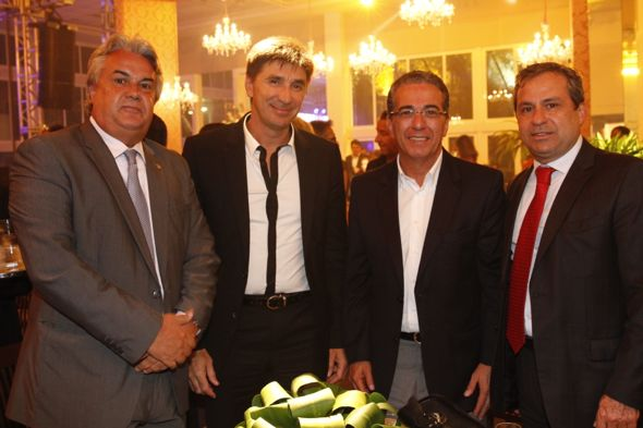 André Campos, Janguiê Diniz e Tadeu Alencar. Crédito: Ricardo Fernandes / DP / D.A Press