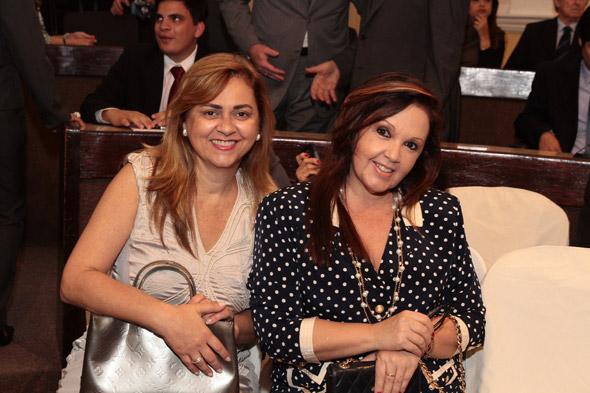 Gláucia Machado e Sheila Wanderley - Crédito:Nando Chiappetta/DP/D.A Press