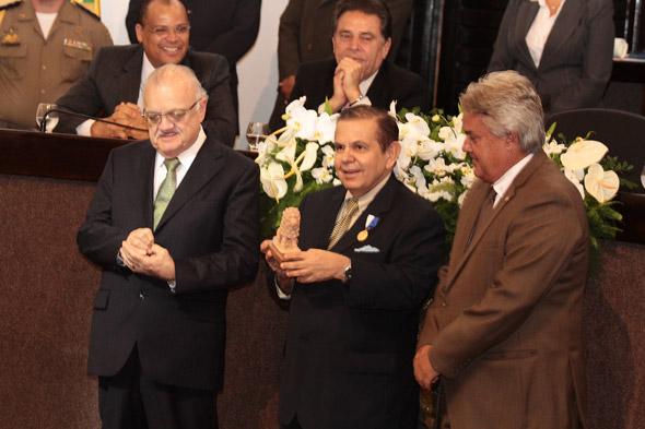 Guilherme Uchôa, João Alberto e André Campos - Crédito:Nando Chiappetta/DP/D.A Press