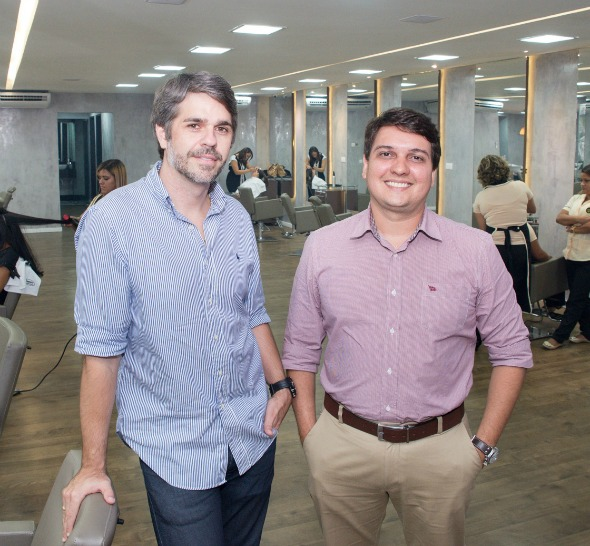Alfredo Genard e Eduardo Perazzo Crédito: Gabriel Ferreira/Divulgação