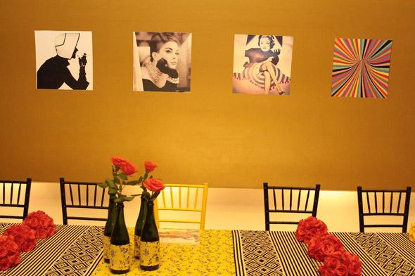 Detalhes da decoração - Crédito: Nando Chiappetta/DP/D.A Press