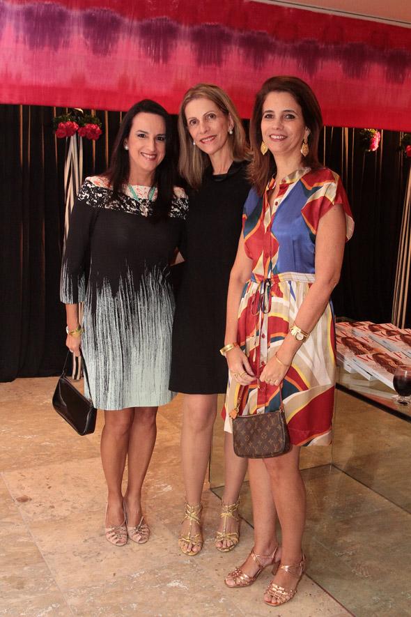 andra Cantarelli,Arabe Tavares de Melo e Vânia Sturhrk Crédito: Nando Chiappetta/DP/D.A Press