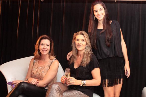 Luciana Menezes, Maricia Ribeiro e Andressa Ramos - Crédito: Nando Chiappetta/DP/D.A Press