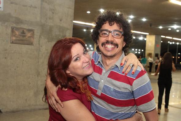 Nena Queiroga e Pupillo - Crédito:Nando Chiappetta/DP/D.A Press