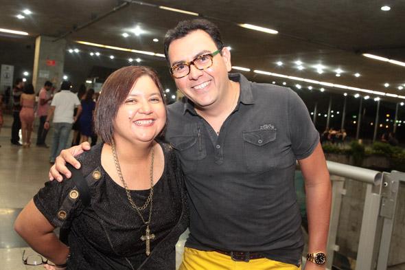 Ana Clara Marinho e Auricélio - Crédito:Nando Chiappetta/DP/D.A Press