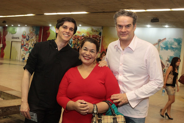 Turíbio Santos, Madá Albuquerque e Newman Bello - Crédito:Nando Chiappetta/DP/D.A Press