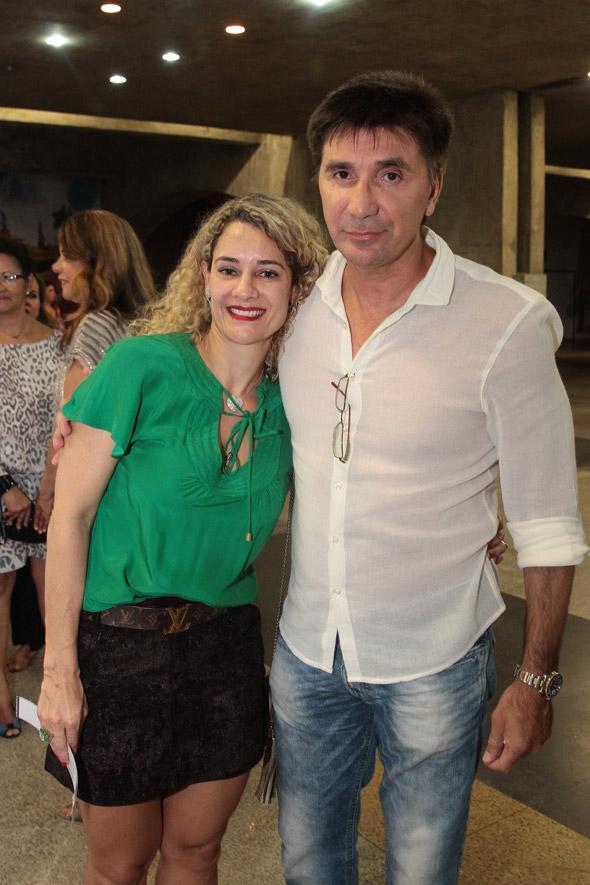 Sandra e Janguiê Diniz. Crédito:Nando Chiappetta/DP/D.A Press