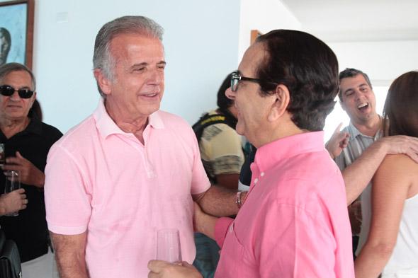 José Múcio Monteiro e Antônio Lavareda Crédito:Nando Chiappetta/DP/D.A Press