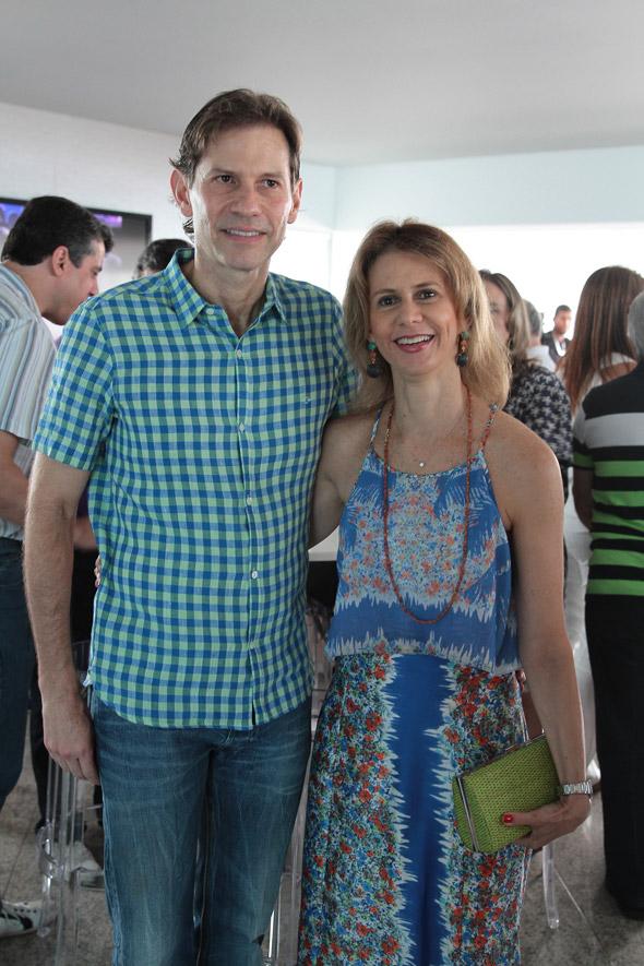 Gustavo Dubeux e Roberta Crédito:Nando Chiappetta/DP/D.A Press