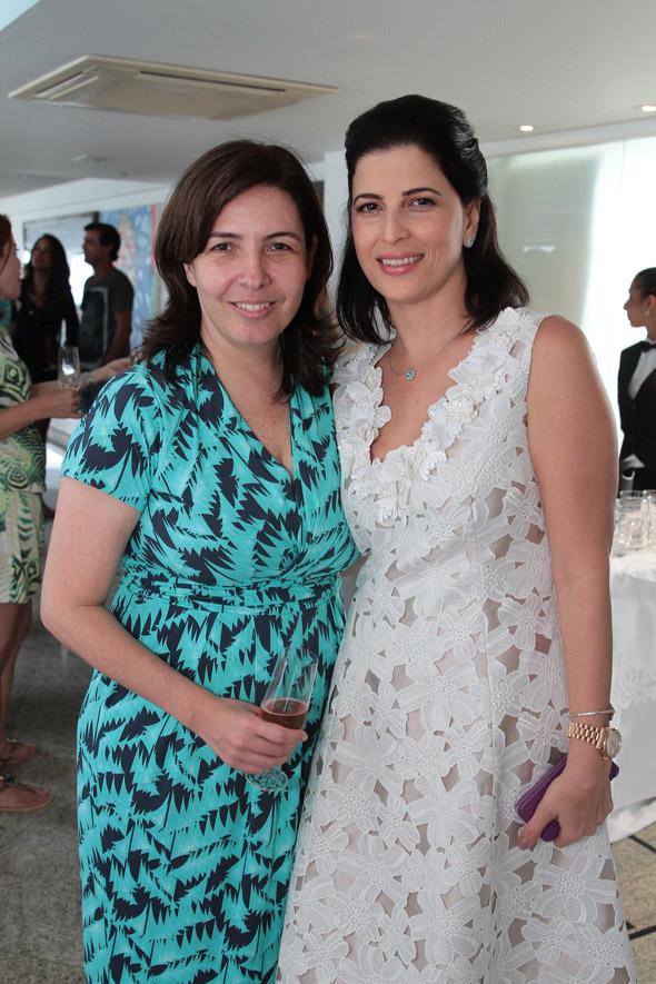 Mônica Bergamo e Carla Bensoussan Crédito:Nando Chiappetta/DP/D.A Press