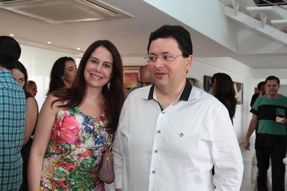 Danielle Rios e Antônio Campos Crédito:Nando Chiappetta/DP/D.A Press