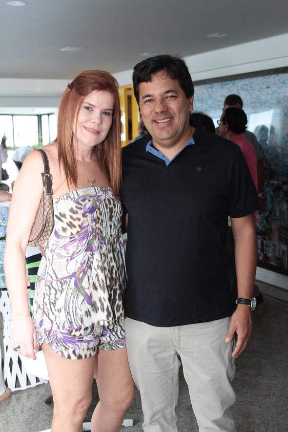 Taciana e Mendonça Filho Crédito:Nando Chiappetta/DP/D.A Press