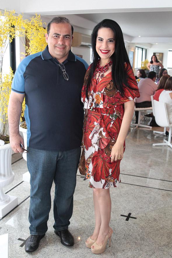 Waldir Bitú e Ana Paula Cascão Crédito:Nando Chiappetta/DP/D.A Press