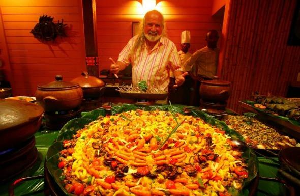 Zé Maria comandou festival gastronômico, sábado, no Paiva - Crédito: José Henrique Moura/Divulgação